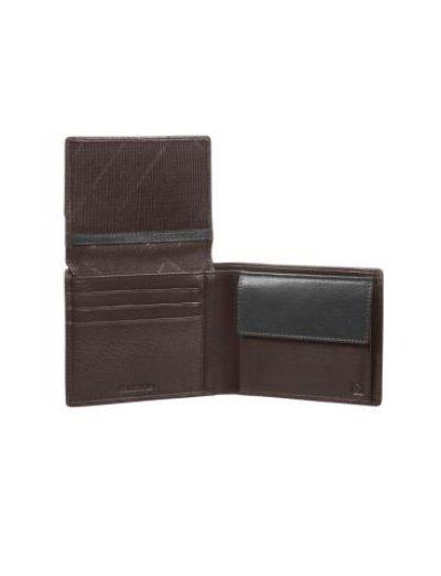NYX 3 Slg Billf 5CC + V Fl + coin + 2c 68N.07.026 - Men's leather wallets