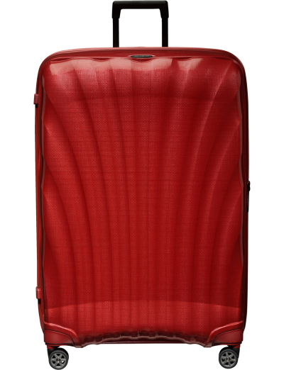 C-Lite Spinner 86 cm Chili Red - Women's suitcases