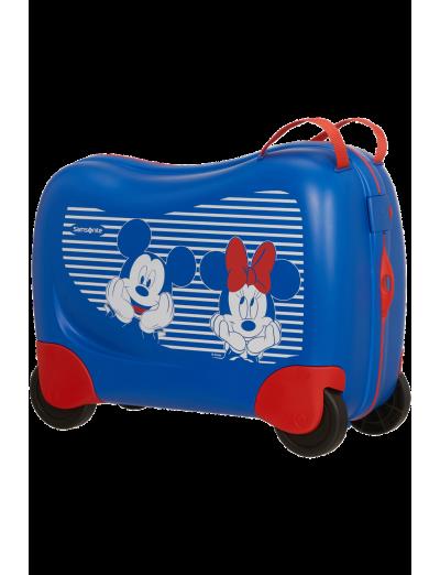 Dreamrider Spinner (4 wheels) Minnie/Mickey Stripes - Kids' suitcases