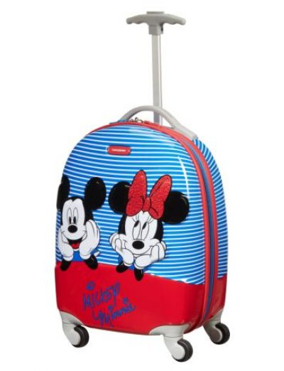 Disney Ultimate 2.0 Spinner (4 wheels) 46.8 cm Minnie/mickey strip - Product Comparison