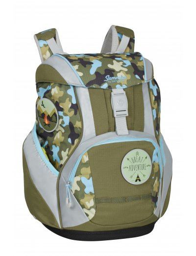 Sammies Ergоfit Backpack Set Adventure Camo - Kid's school backpacks 1- 4 grade