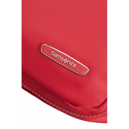 Modula Top Open Toiletry Pouch True Red