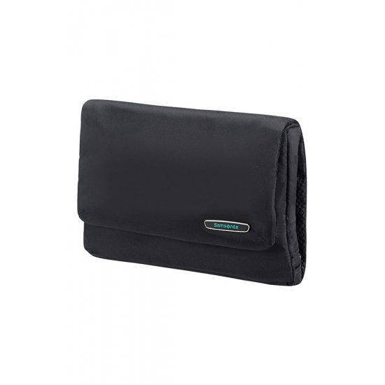 Modula Folding Toiletry Bag Black