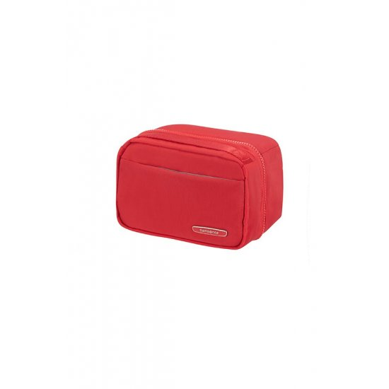 Modula Double Pouch True Red
