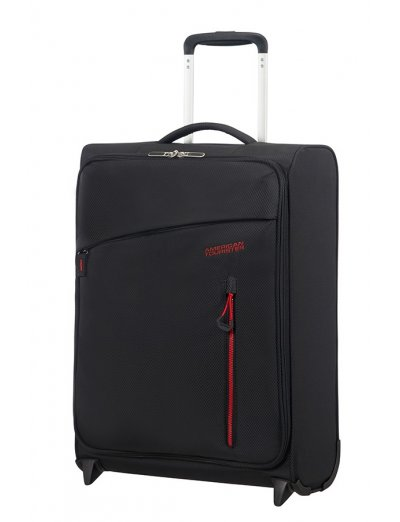 Litewing 2-wheel Upright suitcase 55cm Volcanic Black - Softside suitcases