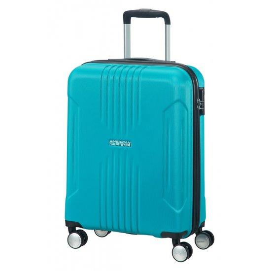 Tracklite 4-wheel Spinner suitcase 55cm Sky Blue
