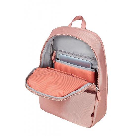 Nefti Laptop Backpack 35,8cm/14.1″ Rose/Burgundy