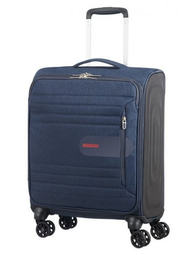 Sonicsurfer Spinner (4 wheels) 55cm Midnight Navy - Softside suitcases
