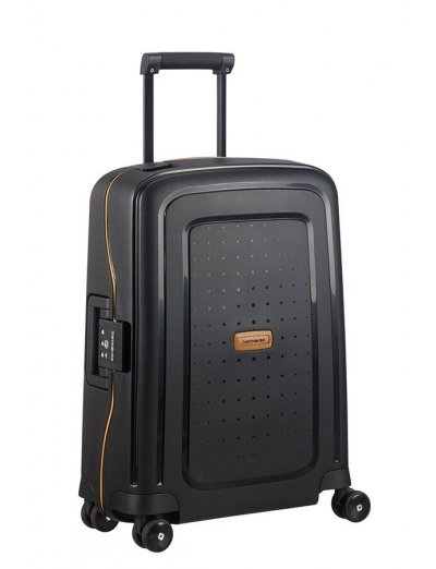 S'cure Eco Spinner (4 wheels) 55cm Black - S'cure Eco