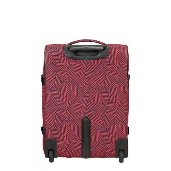 Rewind Duffle with wheels 68cm Capri Red Stripes