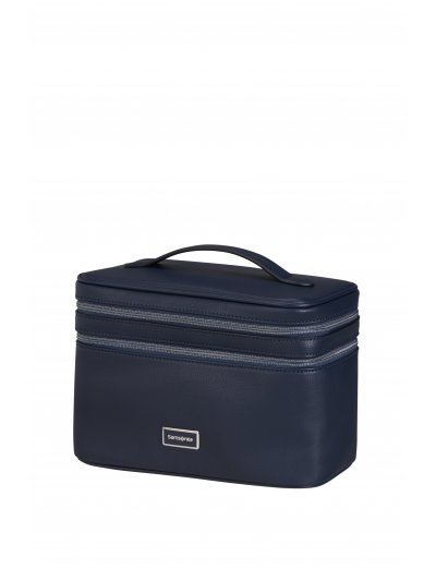 Karissa 2.0 Dlx Beauty case Navy Blue - Toiletry bags and cases