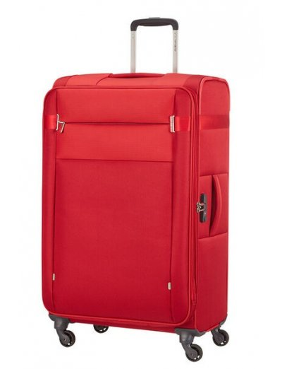 Citybeat Spinner 4 wheels 78cm Exp. Red -