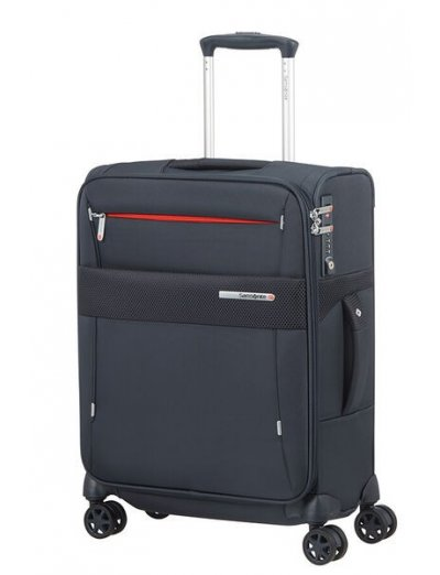 Duopack Spinner Expandable (4 wheels) 55cm Blue - Duopack