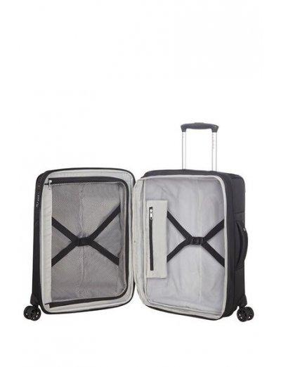 Duopack Spinner Expandable (4 wheels) 55cm Black - Duopack