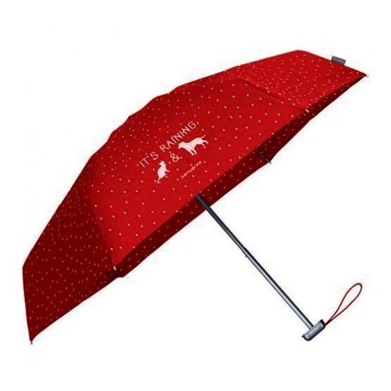 3 section foldable manual umbrella