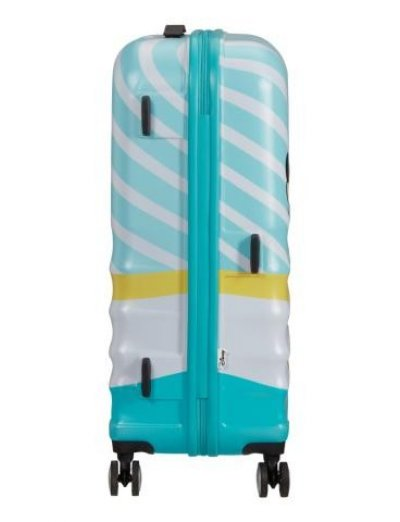 АТ 4-wheel 67cm Spinner suitcase Wavebreaker MICKEY BLUE KISS - Kids' series