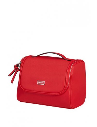 Karissa 2.0 Dlx Toiletry Bag Red - Toiletry bags and cases