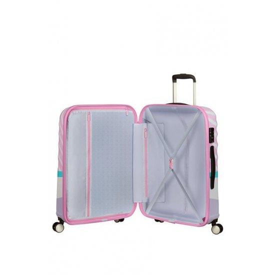 АТ 4-wheel 67cm Spinner suitcase Wavebreaker DAISY PINK KISS