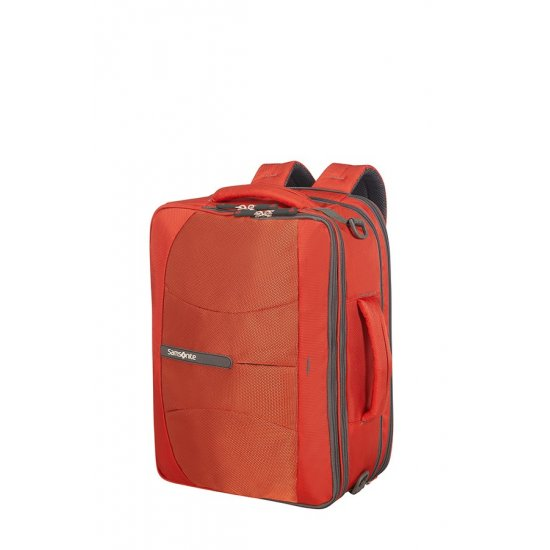 4Mation 3-Way Shoulder Bag Expandable Red/Grey