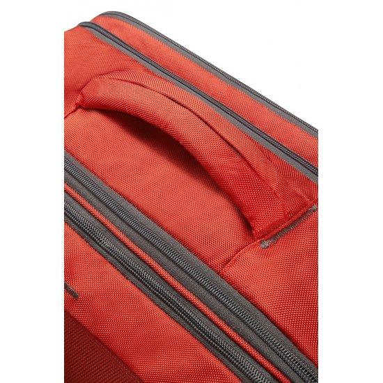4Mation 3-Way Shoulder Bag Expandable Red/Grey