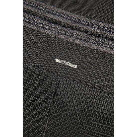 4Mation 3-Way Shoulder Bag Expandable Black/Silver