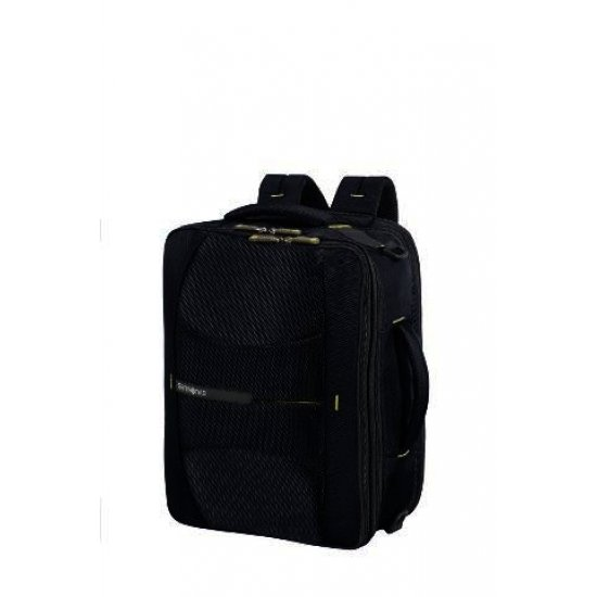4Mation 3-Way Shoulder Bag Expandable Midnight Blue/Yellow
