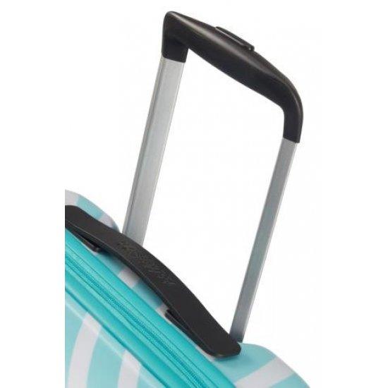 АТ 4-wheel 55cm Spinner suitcase Wavebreaker MICKEY BLUE KISS