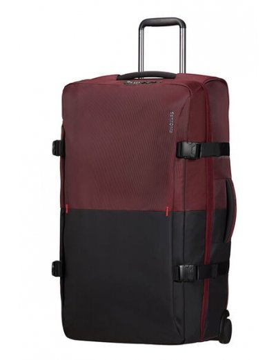 Rythum Duffle with wheels 78 cm Burgundy - Product Comparison