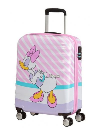 АТ 4-wheel 55cm Spinner suitcase Wavebreaker DAISY PINK KISS - Product Comparison