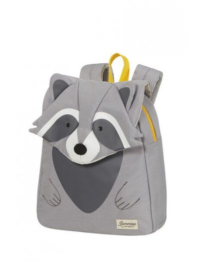 Happy Sammies Backpack S  Raccoon Remy - Kids' backpacks for kindergarden