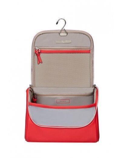 Karissa 2.0 Dlx Toiletry Bag Red - Karissa 2.0 Dlx