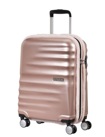 Wavebreaker 4-wheel cabin baggage Spinner suitcase 55cm - AT WAVEBREAKER