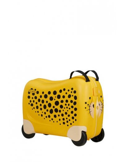 Dreamrider Spinner (4 wheels) Cheetah C. - Kids' suitcases