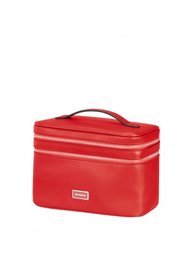 Karissa 2.0 Dlx Beauty case Red - Toiletry bags and cases