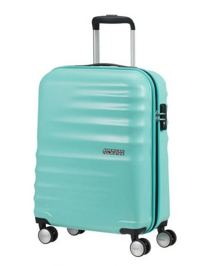 Wavebreaker 4-wheel cabin baggage Spinner suitcase 55cm (COPY) (COPY) - AT WAVEBREAKER