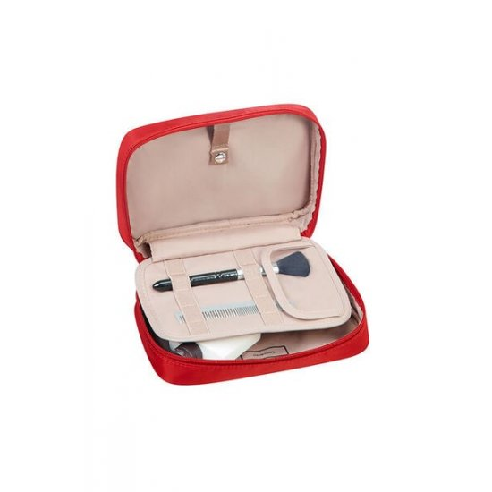 Karissa Cosmetic Pouch Formula Red