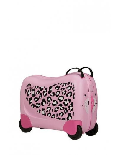 Dreamrider Spinner (4 wheels) Leopard L. - Kids' suitcases