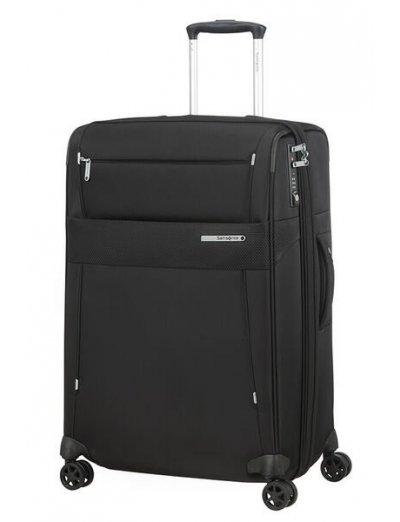Duopack Spinner Expandable (4 wheels) 67cm Black - Duopack