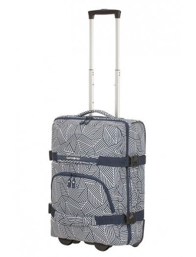 Rewind Duffle with wheels 68cm Navy Blue Stripes - Product Comparison