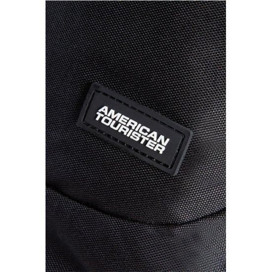 American Tourister черна чанта за рамо AT Miami Fun