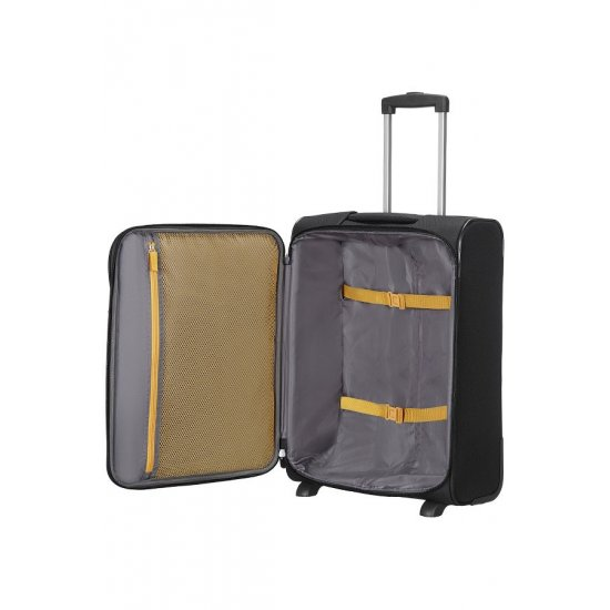 San Francisco 2-wheel cabin baggage Upright suitcase 55x40x20cm Black