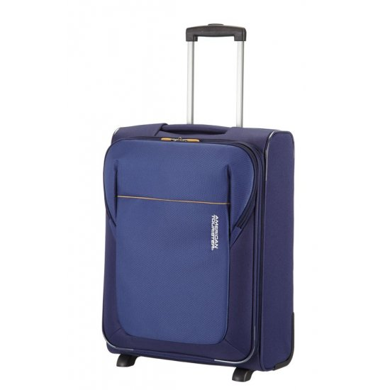 San Francisco 2-wheel cabin baggage Upright suitcase 55x40x20cm Blue