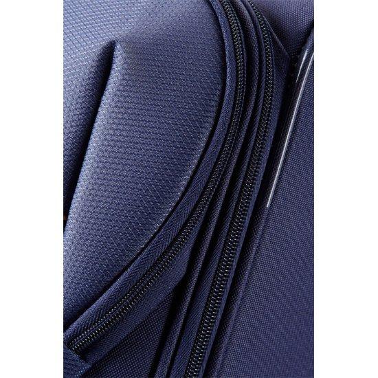 San Francisco 2-wheel cabin baggage Upright suitcase 55x40x20cm Blue