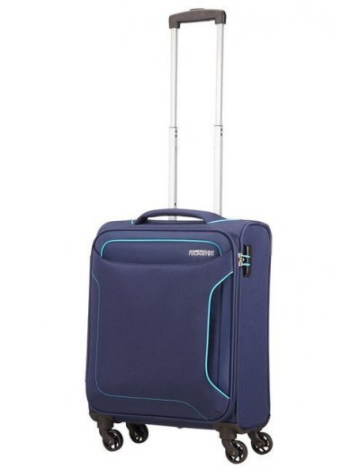 Holiday Heat 4-wheel cabin baggage Spinner 55cm Navy - Softside collection
