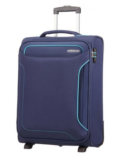 Holiday Heat 2-wheel cabin baggage Upright 55cm Navy - Softside suitcases