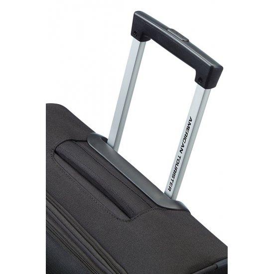 American Tourister куфар на 2 колела Spring Hill 50 см в черен цвят