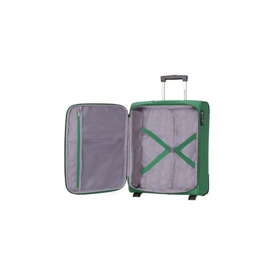 American Tourister куфар на 2 колела Spring Hill 50 см в зелен цвят