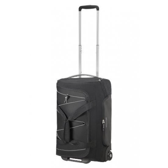 Road Quest Duffle with Wheels 67 cm Black/Grey