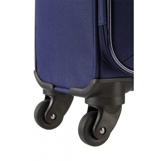 San Francisco 4-wheel 67cm medium Spinner suitcase Blue