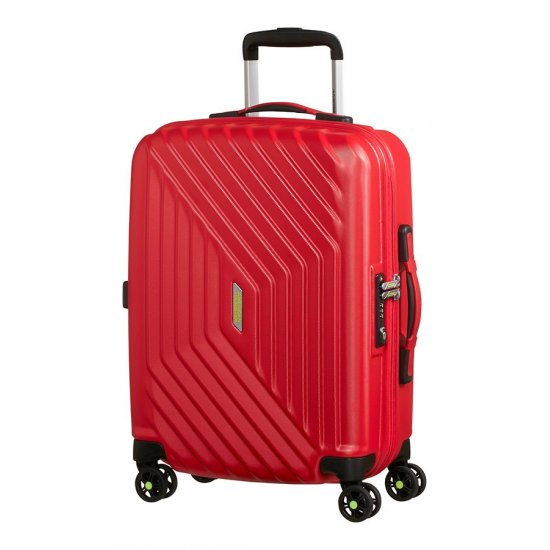 Air Force 1 4-wheel 55cm Spinner suitcase Flame Red